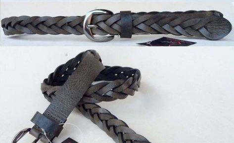Waxy Leather Belt-131101